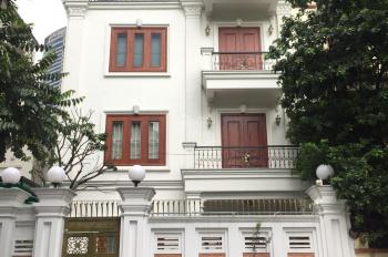 Cho thuê nhà biệt thự KĐT Mễ Trì Hạ - Hà Nội. DT 120m2, 5 tầng có thang máy, full nội thất
