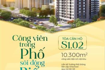 Mở bán tòa S1.02 Vinhomes Ocean Park - Tòa căn hộ thông minh đầu tiên tại thành phố biển hồ