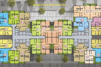 Chỉ 3.2 tỷ sở hữu ngay căn hộ 103m2 chung cư Five Star, số 2 Kim Giang