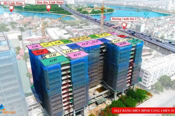 Quỹ hàng cuối cùng toà A - Phương Đông Green Park. 55 căn hộ đẹp nhất, Ck 4,5%, quà tặng 7 chỉ vàng