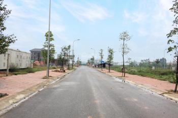 Mr Huy 0943.934.695 KĐT Nam Vĩnh Yên cần bán lô đất biệt thự nằm trên trục đường thông ra QL2A