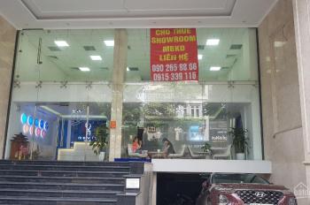 Cho thuê showroom, văn phòng tại số 352 Phố Huế - Hà Nội giá: 250 nghìn/m2/tháng diện tích: 350m2