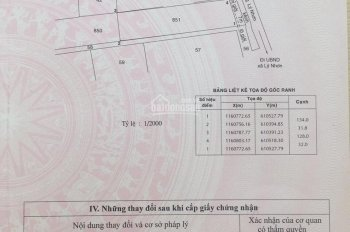Bán 4143m2 Đất Mặt Tiền Lý Nhơn Cần Giờ Tp.hcm Giá Chỉ 1,5tr/m2