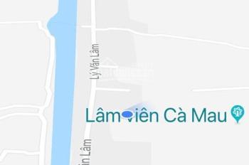 Bán gấp đất Cà Mau phường 9, đường Lý Văn Lâm giá 999 triệu, LH 0988887773 My