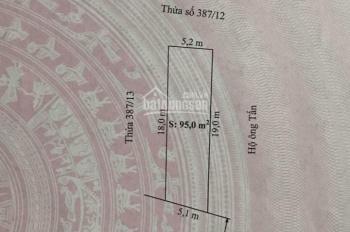Bán đất mặt đường Văn Phong, Đồng Thái, An Dương. Giá 1.25 tỷ