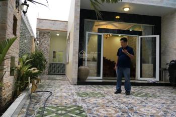 Chính chủ bán nhà mặt tiền đường Nguyễn Thị Điệp, Đông Thạnh, Hóc Môn. Nhà thiết kế kiểu biệt thự