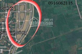 Bán gấp một số suất đất đấu giá phường Cự Khối - Long Biên, vị trí đắc địa đầu tư sinh lời