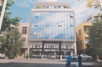 Cho thuê tòa nhà 7 tầng mặt tiền 13m phố Nguyễn Quốc Trị - Nam Trung Yên