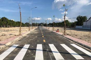 Bán đất mặt tiền Đinh Tiên Hoàng (40m) sổ đỏ thổ cư 100%. Giá F0: 720tr, ngân hàng vay 60%