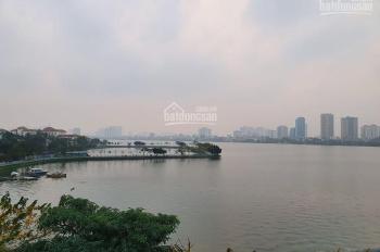 Nhà mặt phố Tô Ngọc Vân 265m2, mặt tiền 19m, nhìn thẳng Hồ Tây, cho thuê giá ngất ngưởng 0988128996