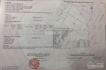 Bán đất MT đường 3 tháng 2, P8, Vũng Tàu, DT 20x40m, đất ở 100%. LH 0945412112