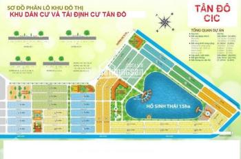 Bảng giá KDC Tân Đô (An Hạ Riverside, Hương Sen Garden). Khách ngộp nợ NH nên bán rẻ hơn cty 300tr