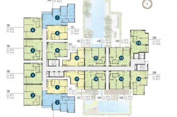 Bán căn A.1x.16, 2PN, dự án Precia, liền kề nút giao An Phú, quận 2. LH: 0934455105