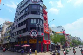 Cho thuê nhà góc 2MT Sư Vạn Hạnh, Q10, 10x17m hầm 5 tầng, giá 140 triệu, LH :0909909777