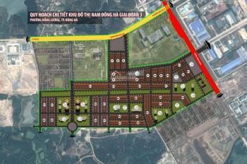 Khu đô thị Nam Đông Hà - Quảng Trị GĐ 1.2.3, giá từ: 760 triệu/lô (Từ 120m2) - LH 093.1195.888
