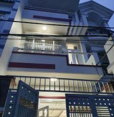 Nhà chính chủ bán 3 tấm mới ngay chợ Bình Trị Đông, Bình Tân, hẻm ô tô, giá:2,5tỷ TL. LH 0356669091