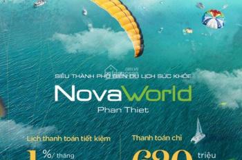 Chỉ 620tr bạn có thể sở hữu căn nhà view biển Novaworld Phan Thiết. Tặng 200 triệu gói nội thất
