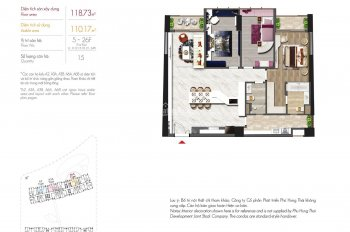 Bán giá gốc và lỗ phí chuyển nhượng căn Midtown The signature, PMH, 115m2, giá 7,8tỷ, LH 0938360480