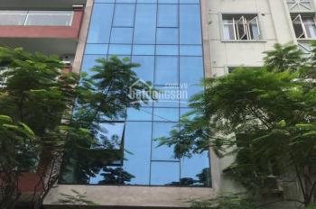 Cho thuê tòa nhà MP Yên Lãng 120m2 x 8 tầng, 1 hầm, MT 7m, mới xây, hiện đại, nội thất cao cấp