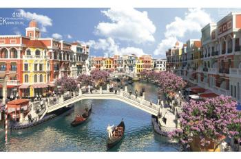 Cần bán shophouse khu Thượng Hải (Shanghai) mặt sông, sát cầu đi bộ, dự án Grand World Phú Quốc