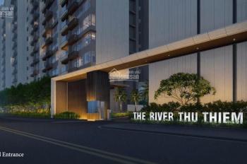 Chính chủ cần chuyển nhượng lại căn hộ The River Thủ Thiêm, giá tốt 2PN - 2WC tầng cao view đẹp