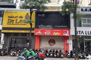 Cho thuê nhà mặt phố Trung Hoà, DT 140m2 * 6 tầng, MT 6,5m, thang máy, tiện kinh doanh. Giá 89tr