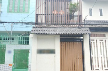 Bán nhà mới HXH đường Bùi Minh Trực Phường 6 Quận 8 + Diện tích: 3.8 x 23m ( nở hậu 4m)