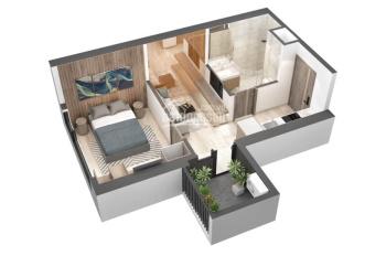 Trả góp căn 1 phòng ngủ Sky Oasis view Vịnh Đảo tầng 10 giá gốc CĐT, hỗ trợ 24 tháng lãi suất 0%