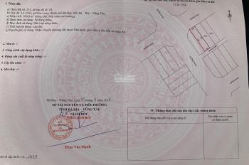 Bán Lô đất 100m2 thổ cư tại TP Bà Rịa - VT 650 triệu. LH: 0936.168.186 chính chủ bán