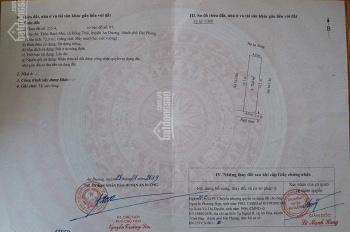 Bán 72m2, đất hợp lý khu UBND Đồng Thái, gần chợ Bạch Mai giá chỉ có 650 triệu, 0904271579