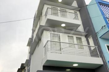 Bán nhà 1 trệt, 2 lầu, 1 sân thượng, 4PN, 3WC, DTSD 97.5m2, giá 4.7 tỷ, SHR, thương lượng chủ