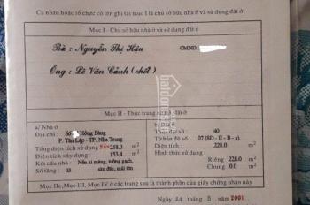 Mùa Covid cần tiền bán giá đầu tư nhà đất mặt tiền đường Hồng Bàng - Tân Lập