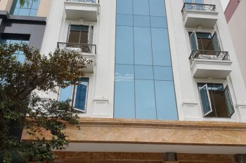 Cho thuê nhà MP Phạm Hùng - Cầu Giấy - HN. DT 120m2, 7 tầng, 1 hầm, MT 6,5m thông sàn, có thang máy