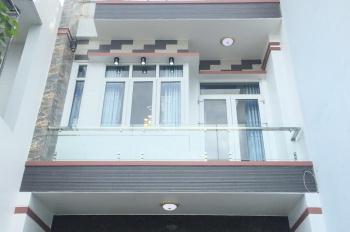 Bán căn nhà phố 5x22m, trệt 3 lầu gần chợ Đại Hải Hóc Môn