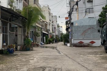 Bán nhà 1 trệt 1 lầu hẻm 481 Nguyễn Văn Quá, P. Đông Hưng Thuận hẻm 6m, khu phố an ninh