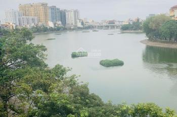 Nhà đẹp nhất phố Mai Anh Tuấn view hồ 60m2 x 5 tầng thông sàn có thang máy điều hòa giá 40tr/ tháng
