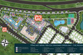 Cập nhật ngày (07/08) danh sách CH Vinhomes Green Bay giá bán tốt nhất thị trường. Lh: 0934401288