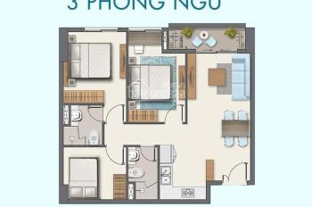 Duy nhất, suất nội bộ căn 3 phòng ngủ cuối cùng tại Q7 Boulevard, cam kết giá gốc, thanh toán 30%