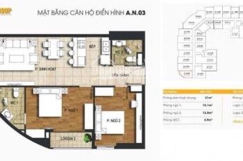 Bán căn hộ T&T 440 Vĩnh Hưng view siêu đẹp. Giá cắt lỗ
