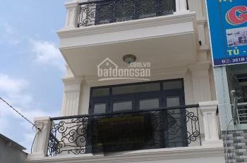 Cho thuê nhà mới mặt tiền hẻm gần Vạn Hạnh Mall, Q10  DT: 4.2x16m, 4 tầng có ST. Giá: 31tr/th