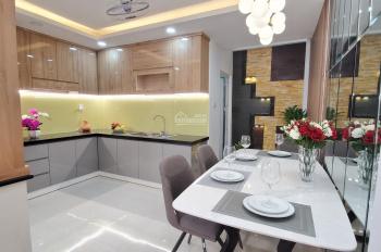 Cần bán căn nhà phố mới xây đường Thống Nhất nối dài Tô Ngọc Vân kiểu Châu Âu, DTSD: 200m2