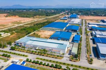 Bán đất trong khu công nghiệp Yên Phong tỉnh Bắc Ninh. Quy mô 658ha, DT: Từ (2ha) đến (20ha)