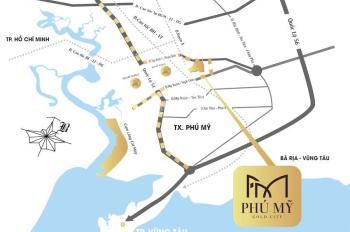 Đất nền Phú Mỹ thổ cư 100% đất ở đô thị xây dựng tự do giá 11tr/m2, NH cho vay không lãi suất
