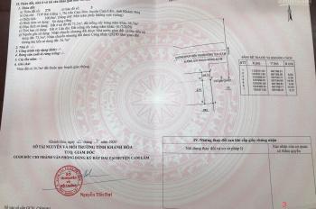 Bán đất mặt tiền Đinh Tiên Hoàng (40m) sổ đỏ thổ cư 100%. Giá f0: 750tr, ngân hàng vay 60%