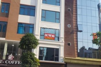 Cho thuê mặt phố Dương Đình Nghệ. DT 56m2 x 6 tầng, có thang máy, sàn thông, điều hoà, giá rẻ