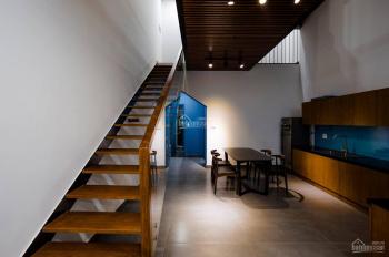 Nhà mặt tiền đường, mới như hình, 5x20, 1 trệt, 3 lầu, 5 phòng, full nội thất