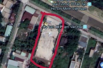 Đất Mặt tiền Trần Văn Giàu, xã Lê Minh Xuân, Tổng DT 1.115m2 bề ngang 20m, tiện Xây Xưởng gái 28 tỷ
