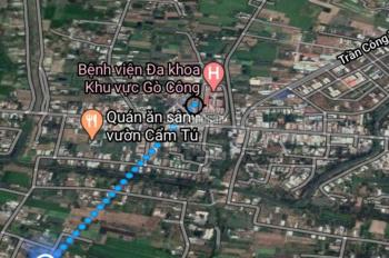 Chính chủ bán đất nền đường bê tông 3m , ấp Thuận Hòa xã Long Thuận, TX Gò Công, DT 5x35