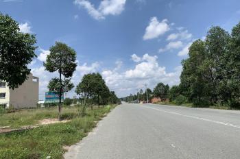 Bán đất Mỹ Phước 3 mặt tiền đường NI18 đường 40m DT 4x40m, giá 2.7 tỷ xây sẵn móng 0962822979