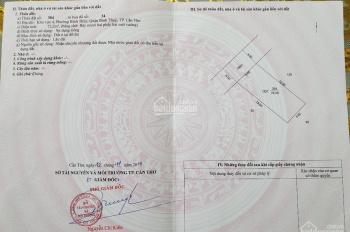 Chính chủ HH 30tr bán nền hẻm 66 Nguyễn Truyền Thanh, Bình Thủy, góc 2 mặt tiền 5,6mx13m thổ cư
